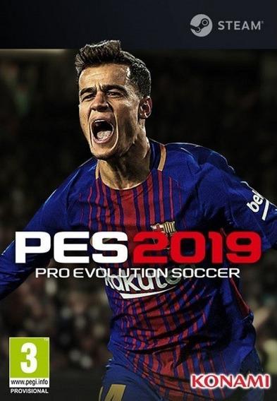Pro Evolution Soccer 2019 Pes Pc - Steam Key (envio Já)