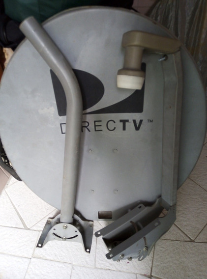 Kit De Antena Directv Foco Lente Lbn Gris Dual Hd. 18$
