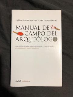 Manual De Campo Del Arquéologo