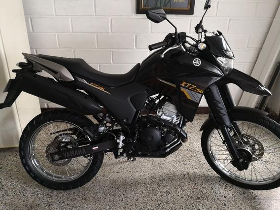 Yamaha Xtz 250 Modelo 2020, Único Dueño, Soat Nuevo.