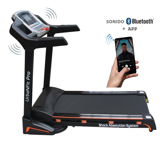 Caminadora Electrica 3.5hp Gym Inclinacion Aut Ac Motor