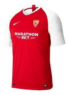 Camisa Nova Do Sevilla Vermelha 19/20 Oficial - Promoção