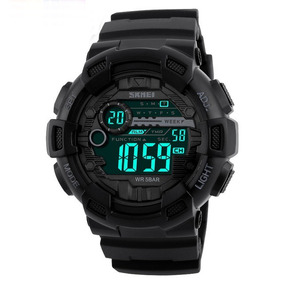 Relógio Masculino Militar Esportivo Shock Skmei Original