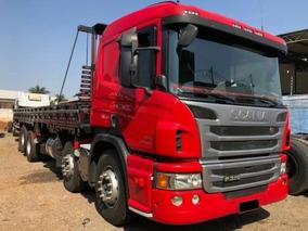 Scania P310 2014 Bitruck 8x2 Carga Seca 9,5m