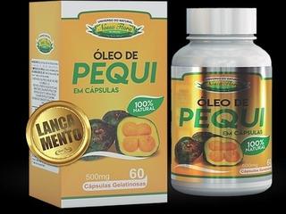 Oleo De Pequi Piqui 60 Capsulas