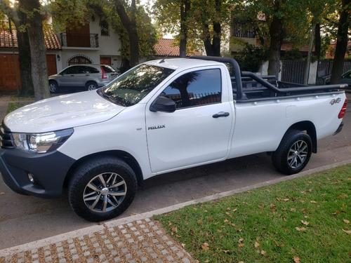 Toyota Hilux 2.4 Cabina Simple Dx 150cv 4x4