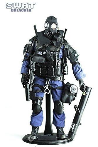 Figura Policia 1/6 Swat Bbi Dragon Gi Joe 12 Pulgadas