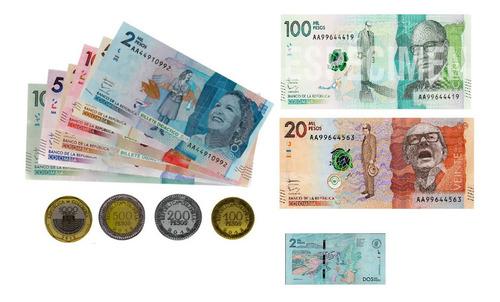 Imagen 1 de 1 de Billete Didactico 100 Unidades * 10 Paquetes (1000 Unidades)