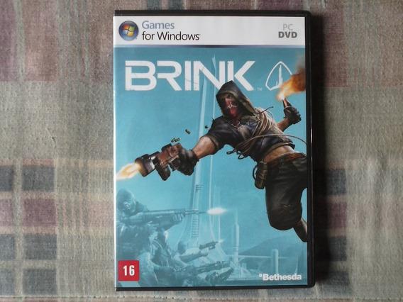 Pc - Brink + Manual + Case Original