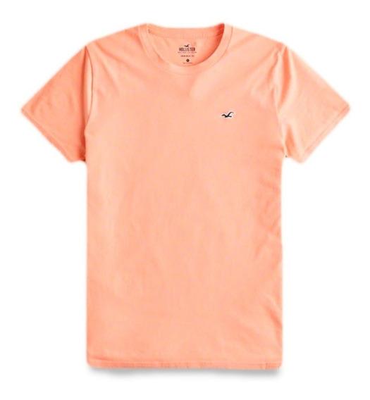 Hollister Must-have Crewneck T-shirt Masculina Original