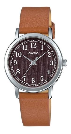 Relógio Casio Collection Feminino Analógico Ltp-e153l-7adf