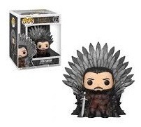 Funko Pop! Tv Game Of Thrones - Jon Snow Iron Throne - Funko