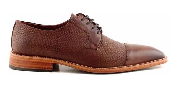 Zapato Cuero Hombre Briganti Acordonado Sport - Hcac00908 Vj