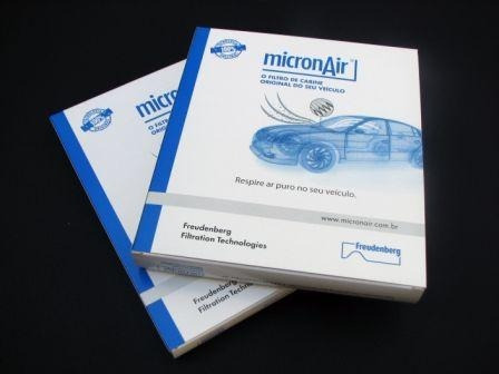 Imagem 1 de 2 de Filtro Ar Condicionado Carvao Ativado Corolla Hilux Rav4