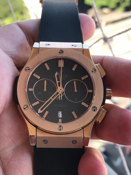 Relógio Masculino Hublo Fusion Classic Rosé