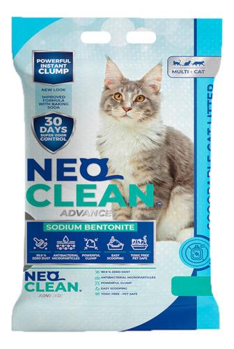 Imagen 1 de 5 de Neo Clean - Arena Aglomerante - Sin Aroma 30 Litros