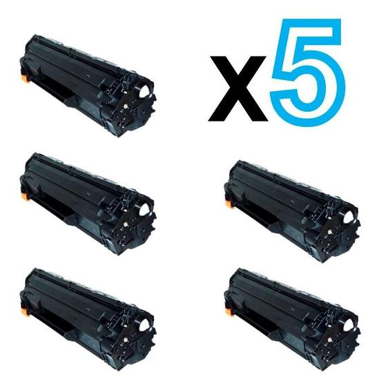 5 Toner Compatível Ce283a Ce283 283a 283 83a