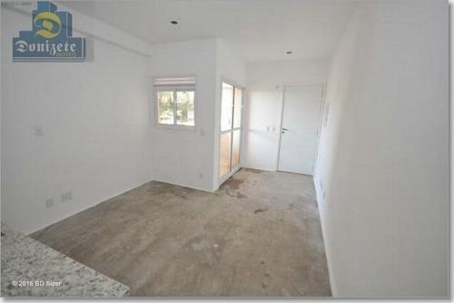 Apartamento À Venda, 43 M² Por R$ 291.900,00 - Campestre - Santo André/sp - Ap3008