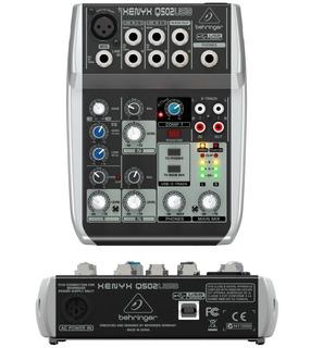 Consola Behringer Xenyx Q502usb