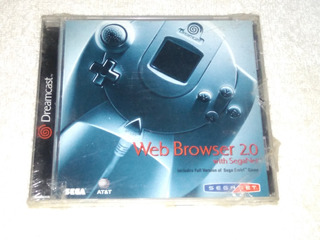 Sega Dreamcast Web Browser 2.0 Nuevo Y Sellado