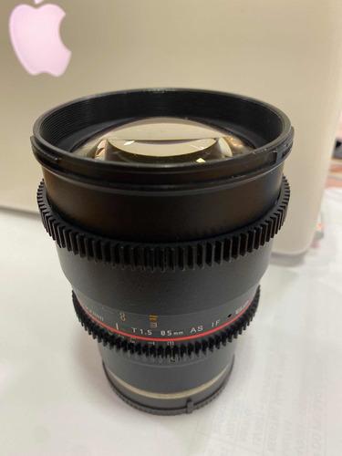 Rokinon Cine Lens 85mm E Mount