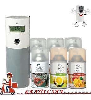 Aromatizador Digital + 6 Recargas Envio Gratis Caba