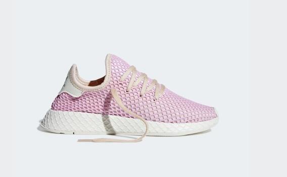 Zapatillas adidas Originals 9 Usa Deerupt Runner Mujer Rosa