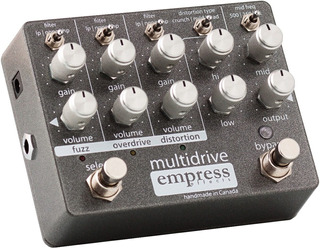 Pedal Empress Multidrive Overdrive Fuzz Distortion - Oddity