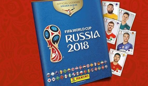 Kit 500 Figurinhas Copa Do Mundo Russia 2018 Sem Repetições