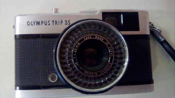 Câmera Olympus Trip 35 Filme