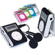 Mp3 Player - Cores Aleatórias