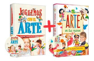 Taller De Plástica Para Niños + Libro Juguemos Con El Arte