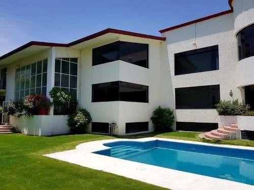 Venta De Casa Residencial En Fracc. Lomas De Cocoyoc, Morelos