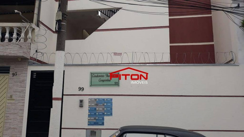 Imagem 1 de 15 de Studio Com 2 Dormitórios À Venda, 42 M² Por R$ 180.000,00 - Vila Domitila - São Paulo/sp - St0067