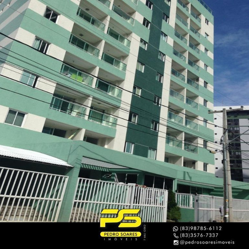 Apartamento Com 2 Dormitórios À Venda, 85 M² Por R$ 315.000 - Manaíra - João Pessoa/pb - Ap3582