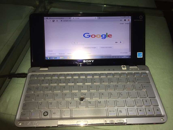 Notebook Sony Vaio Pocket Vgn530 Mini 2gb Ram Hd 60gb