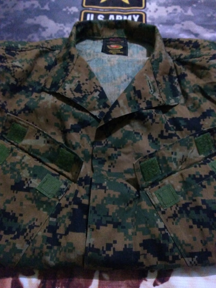 Uniforme Militar Original Verde Pixel Small