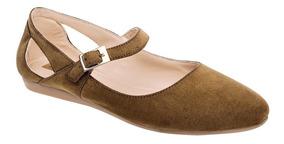 Zapato Casual Mujer Camel T80381