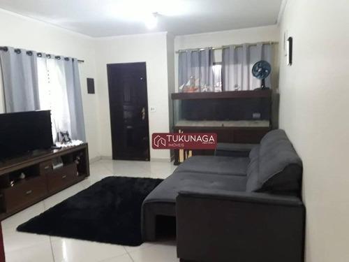 Sobrado Com 3 Dormitórios À Venda, 135 M² Por R$ 380.000,00 - Jardim Vila Galvão - Guarulhos/sp - So1096