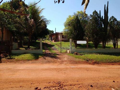Imagem 1 de 30 de Chácara 2 Casas De Alveanria À Venda, 3060 M² Por R$ 485.000 - Rui Barbosa - Londrina/pr - Ch0097