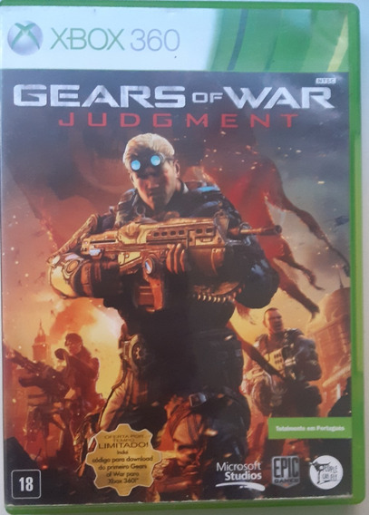 Gears Of War Judgment - Xbox 360 Midia Fisica Original