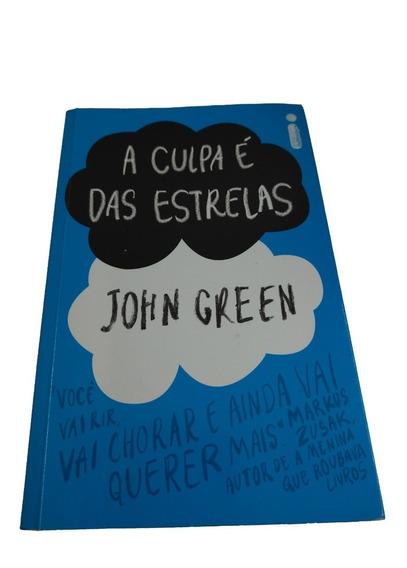 Livro A Culpa É Das Estrelas John Green Perfeito Estado