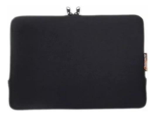 Capa Case Compacto Com Ziper Para Notebook Tablet De 10.1 Preto