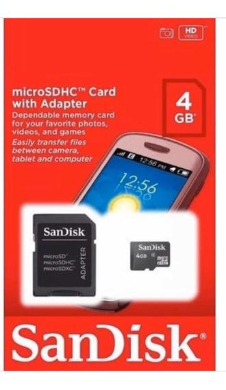 Kit 59 Cartão Micro Sd Card Sandisk 4gb Original + Frete
