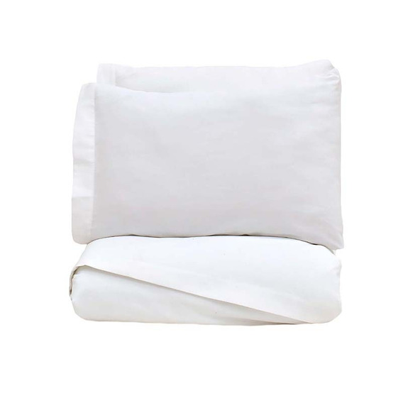 Juego Sábanas King Size Ultra-fresh Blanco Vianney
