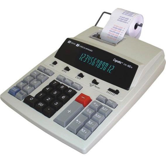 Calculadora Eletrônica Com Impressora Copiatic Cic46ts Menno