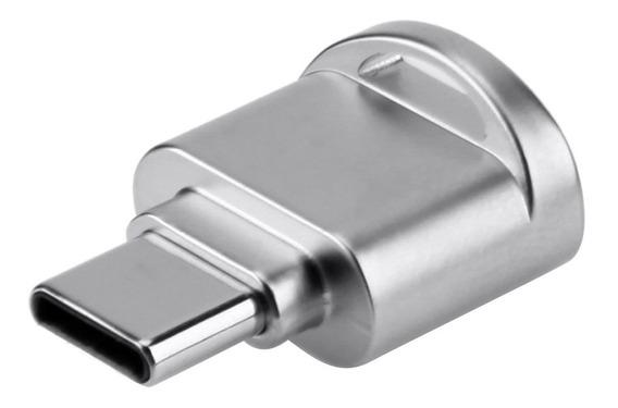 Usb Type C Card Reader Aluminum Alloy Tf Flash Memory Card