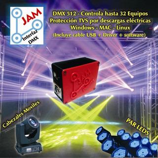 Interface Dmx 512 Usb Jam