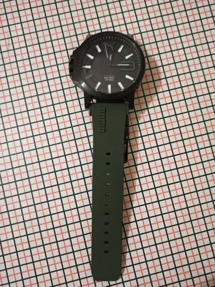 Relógio Puma 103911 Pulseira Borracha