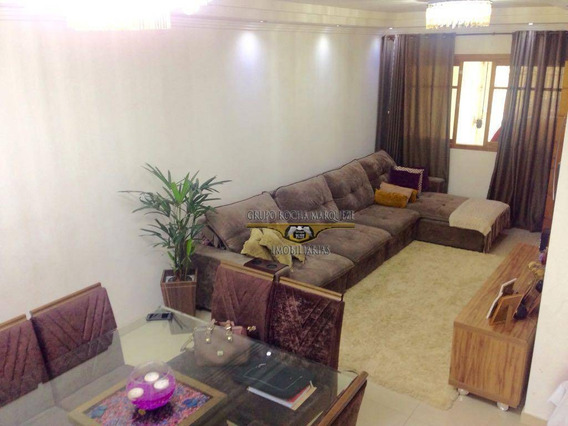 Sobrado Com 4 Dormitórios À Venda, 220 M² Por R$ 758.700,00 - Jardim Vila Formosa - São Paulo/sp - So0817